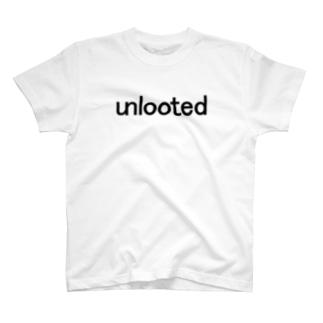 unlooted black T-shirts