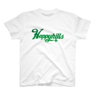 Happyhillsふくおか(緑) T-shirts