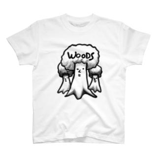 WOODS T-shirts