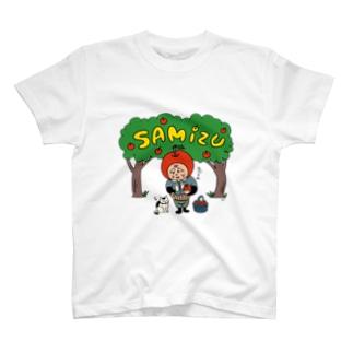 三水家の人々 國光とトキ T-shirts