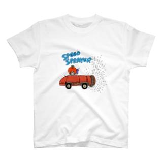 三水家の人々 スピードスプレイヤー T-shirts