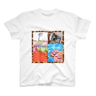 まあるいせかいって素敵だね♪ T-shirts