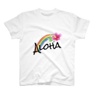 オーバーザレインボー T-shirts