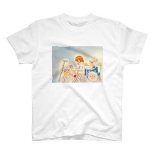 ビーバーちゃんバンド T-shirts