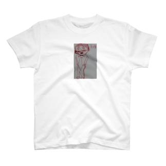 ネコ男  T-shirts
