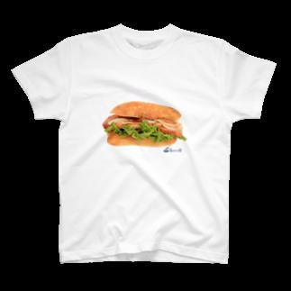 3pondSのベーコンサンド! Tシャツ