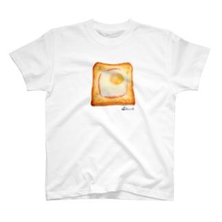 エッグトースト Tシャツ