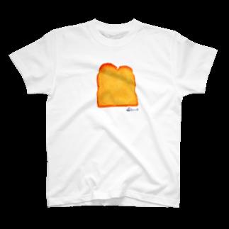 3pondSのトースト Tシャツ