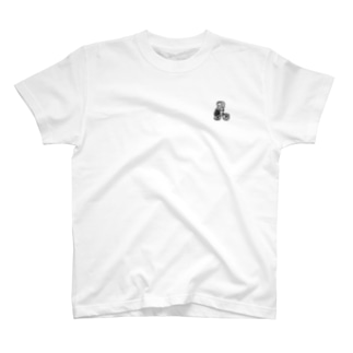 自転車 ぱん さん T-shirts