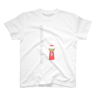 ガムボールマシン* T-shirts