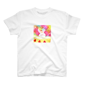 《イラスト15》*あまいゆめうさぎ* T-shirts