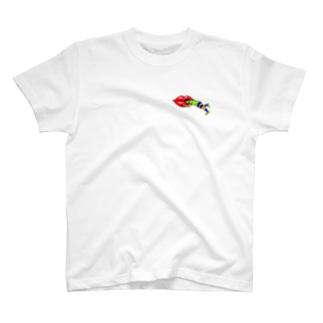 ロケッツグッズのくちびるロケッツ👄 T-Shirt