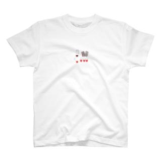 ぶらっどかぷせる T-shirts