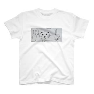 熱で3日間うなされたネコ  T-shirts