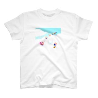 もくもくふわふわ T-shirts