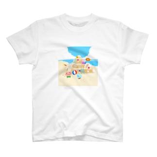 砂浜にあつまれ~ T-shirts