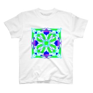 マンダラアート作品 T-shirts