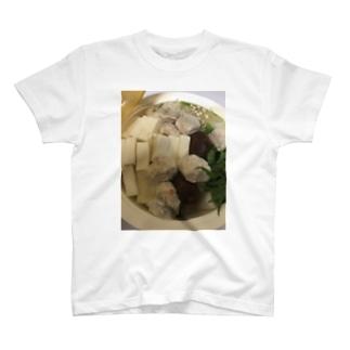 百均のやつで湯豆腐作ったったわシリーズ T-shirts
