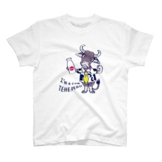 *suzuriDeMonyaa.tag*のCT77水牛 T-shirts