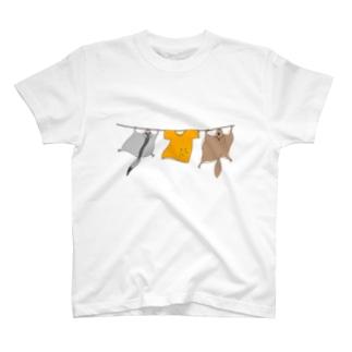洗濯モモンガ T-shirts