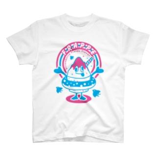 フラッペ T-shirts