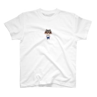 ねこの帽子 T-shirts