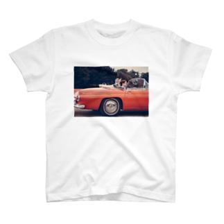 Open Car T-shirts