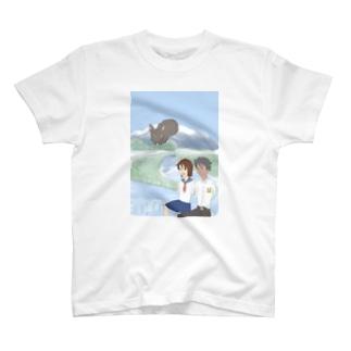 遥かな尾瀬 T-shirts