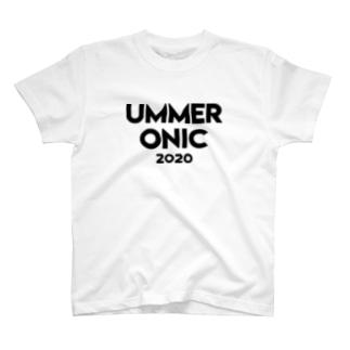 UMMER ONIC(黒ロゴ) T-shirts