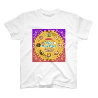 ワ・カリー円 T-shirts