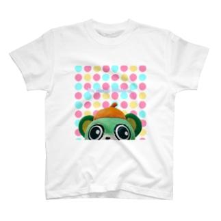 緑熊がみてる T-shirts