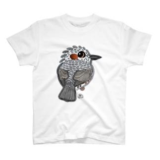 のの目のヒヨドリ T-shirts
