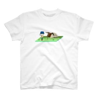 キャンプのできるフェス T-shirts