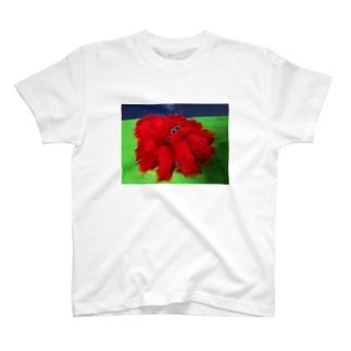 レッドファーのハエトリグモちゃん T-shirts