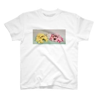 ハエトリグモのぬいぐるみ  T-shirts