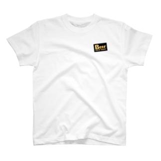 キリン二番搾りのビールモアモアバックプリント T-shirts