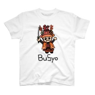 秋武将 T-shirts