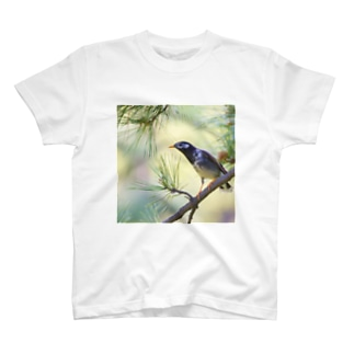 松葉と椋鳥 T-shirts