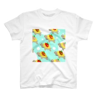 おむカメ3 T-shirts