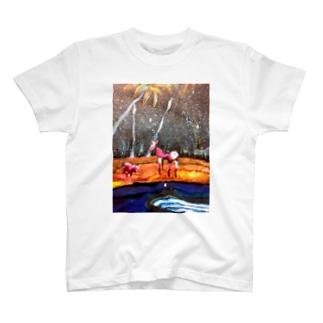 びふぉー T-shirts