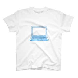 パソコンのアイコン T-shirts
