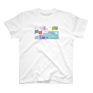 鴨川リメイク T-shirts