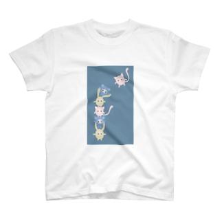 肩ぐるまふれんず T-shirts