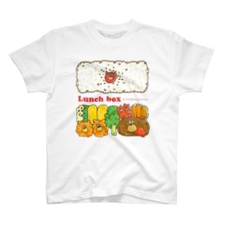 ぶちゃくま。お弁当 T-shirts