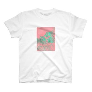 カサゴ 切り絵 T-shirts