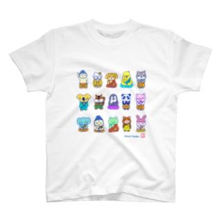 ほとけさまたち T-shirts