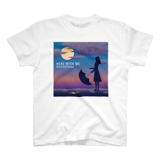 Tシャツ淡色【HERE WITH ME】 T-shirts