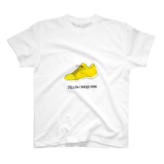 YELLOW SHOES 缶バッチ T-shirts