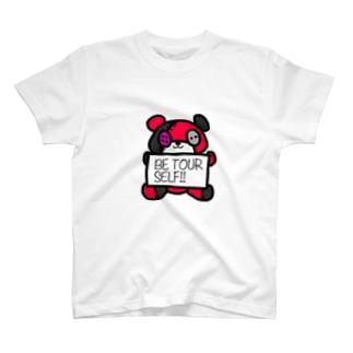 amaまのばんくま!!(スカーレット) T-shirts