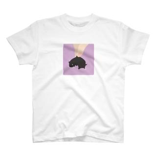 おつまみシリーズ「おつまみおこじょ」クロ T-shirts
